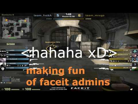 How faceit admins deal with cheaters