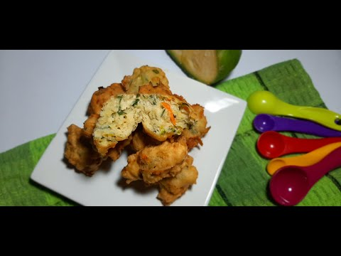 Bocaditos o buñuelos de verduras (muy Facil)