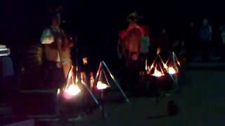 Индейцы из Перу в Ялте. Концерт на набережной