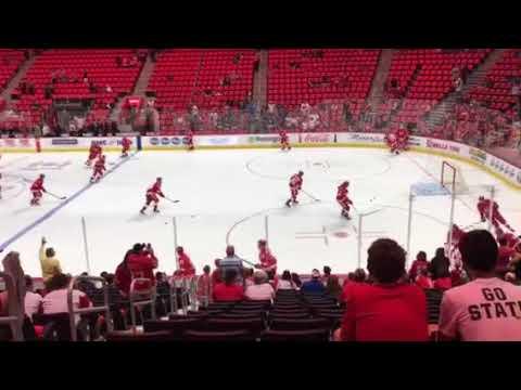 Detroit Red Wings 2017-18 Preseason Warmups