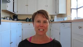 Scoliosis stretches and exercises with Scoliosis Advocate Jen Gorman.