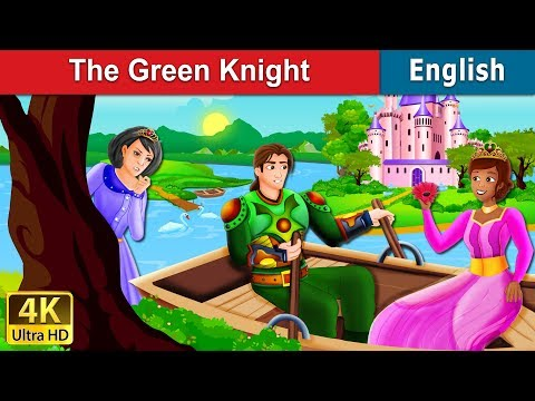 The Green Knight Story in English | Bedtime Stories | English Fairy Tales
