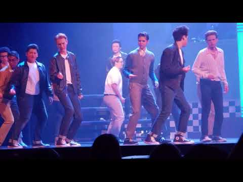 Newport Harbor high school - 2018 Grease performance.