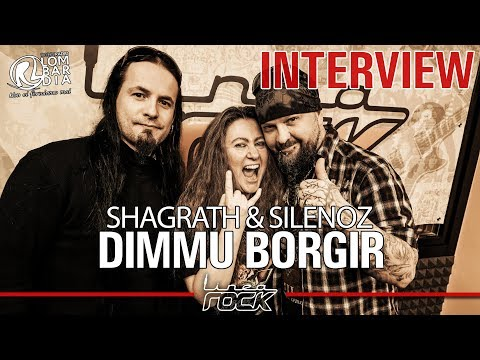 DIMMU BORGIR - Shagrath & Silenoz interview @Linea Rock 2018 by Barbara Caserta