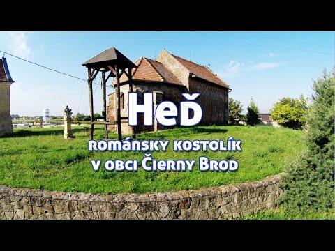 Historický románsky kostolík Heď