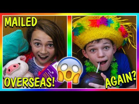WE MAILED THE KIDS OVERSEAS AGAIN! | IT WORKED! | We Are The Davises
