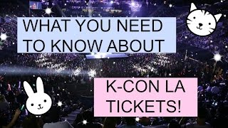 What you need to know about K-con LA Tickets!   PrettyPrinceJin