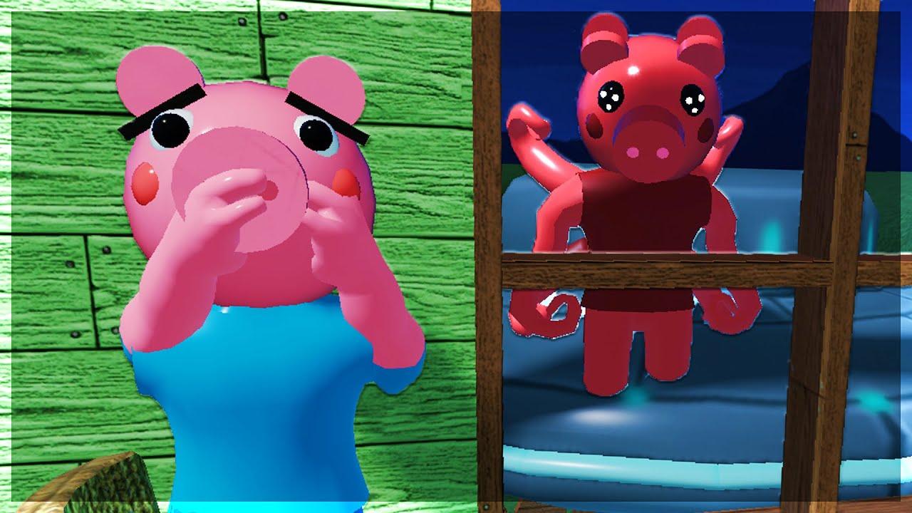 Parasee Is An Alien Secret Origin Story Roblox Piggy Youtube