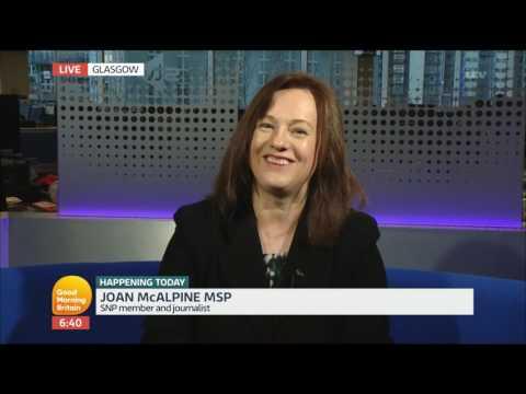 Joan McAlpine on Scottish Independence   Good Morning Britain