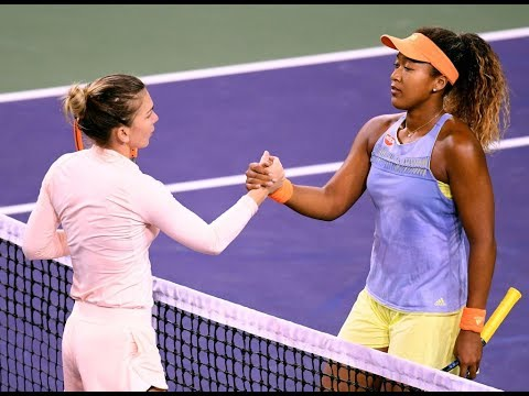 2018 Indian Wells Semifinal | Simona Halep vs. Naomi Osaka | WTA Highlights