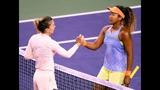2018 Indian Wells Semifinal | Simona Halep vs. Naomi Osaka | WTA Highlights