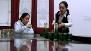 Китай. Развод российских туристов на чайной фабрике.