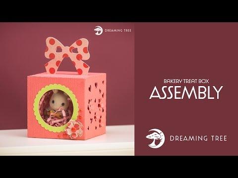 Free SVG - Bakery Treat Box - Assembly Tutorial