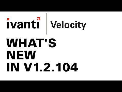 Velocity | Video Tutorials