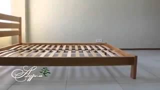 Кровать деревянная Джулия(https://uytniydom.com.ua/krovat-derevyannaya-dzhuliya-108.html Комплектация кровати Тип: кровать деревянная двуспальная. Изголовье:..., 2016-01-27T12:26:32.000Z)