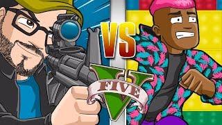 GTA V - Corredores x Snipers, ninguém segura o time dos piratas