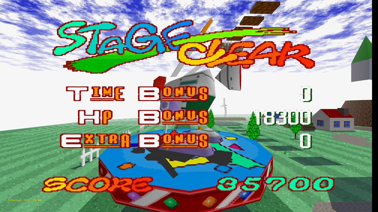 Beetle PSX HW - RetroArch - Jumping Flash - (Nearly) All Settings maxed out