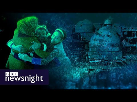 'IS killed our kids. Now I'm saving theirs' - BBC Newsnight