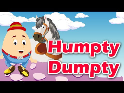 Humpty Dumpty Nursery Rhyme | English Nursery Rhyme With Lyrics | Kids Song | Kidda Junction