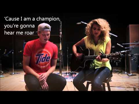 Tori Kelly ft. Scott Hoying - Roar (HD LYRICS)