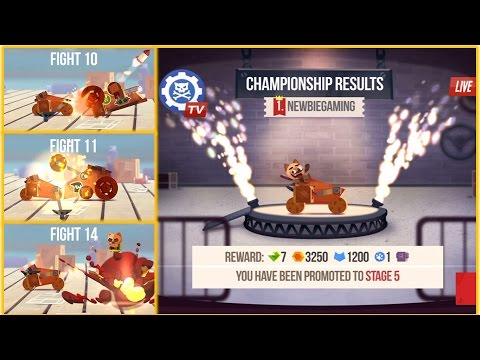 CATS: Crash Arena Turbo Stars: Way To Win 14 Fights In Stage 5 World -IOS Gameplay  Newbie Gaming