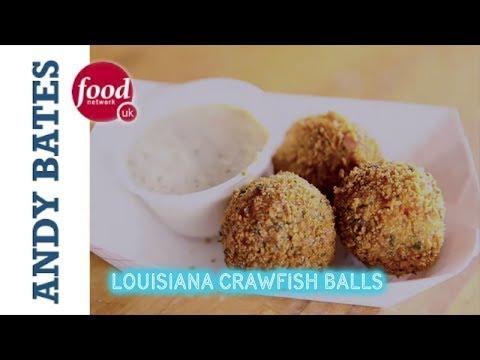 Louisiana Crawfish Balls - Andy Bates