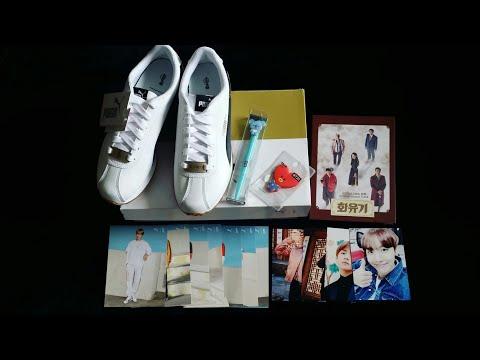 online store 19ada 0357c UNBOXING] BTS X PUMA BASKET PATENT - YouTube