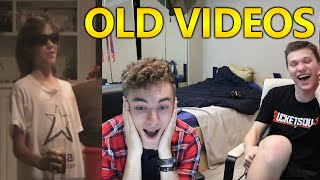 REACTING TO OLD VIDEOS... WITH TODD