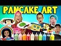 PANCAKE ART CHALLENGE! - YOUTUBER EDITION!!!!