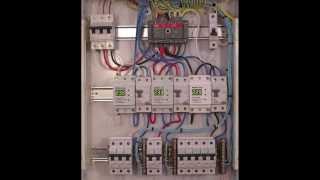 Сборка распределительного щитка(Порядок сбокри РЩ. Комплектующие: - Автоматические выключатели - Реверсивный рубильник - Реле контроля..., 2013-11-30T15:48:19.000Z)