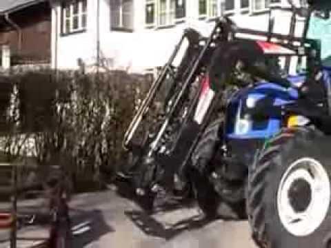 Automatischer schnellwechsler für traktor frontlader hoflader