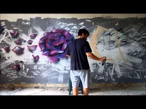 Realistic Rose | Face Graffiti - unfor