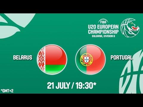 LIVE 🔴 - Belarus v Portugal -Class. Games 9-12 -  FIBA U20 European Championship Division B 2018
