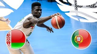 Belarus v Portugal - Full Game - Class. 9-12 -  FIBA U20 European Championship Division B 2018