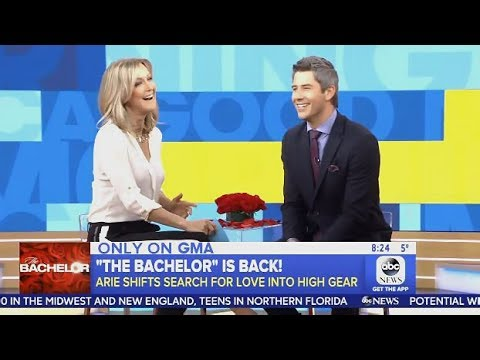 Arie Luyendyk (The Bachelor) Chats Dating 29 Women At Once (GMA)
