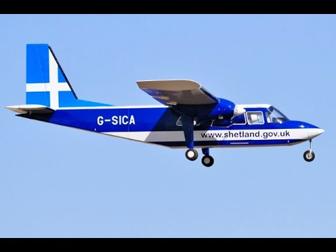 BRITTEN NORMAN BN-2 ISLANDER GIANT 28% SCALE 14 ft W/SPAN RC - LMA COSFORD  100 YRS MEMORIAL - 2018