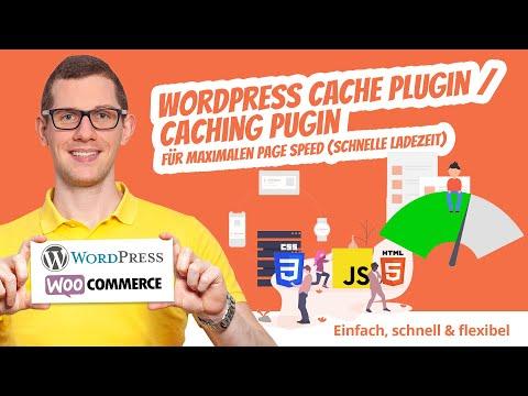 Das wohl beste WordPress Cache Plugin / Caching Plugin für maximalen Page Speed 🚀  schnelle Ladezeit
