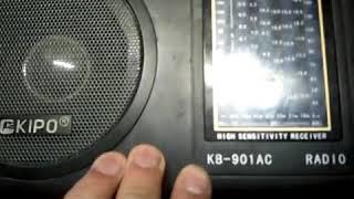 Обзор приемника KIPO KB-901AS