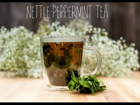 Home Remedies for Seasonal Allergies With Nettle-Peppermint Tea