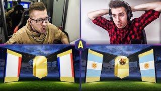 ZAWAŁ! ZWARIOWANY PACK AND PLAY! ADRYAN VS VERNI! | FIFA 18