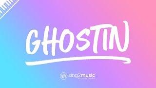 ghostin (Piano Karaoke Instrumental) Ariana Grande