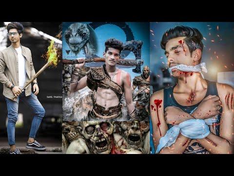 Picsart Zombie Attack Photo Editing   Picsart 2019 New Movie Poster  Editing   Heavy  Editing