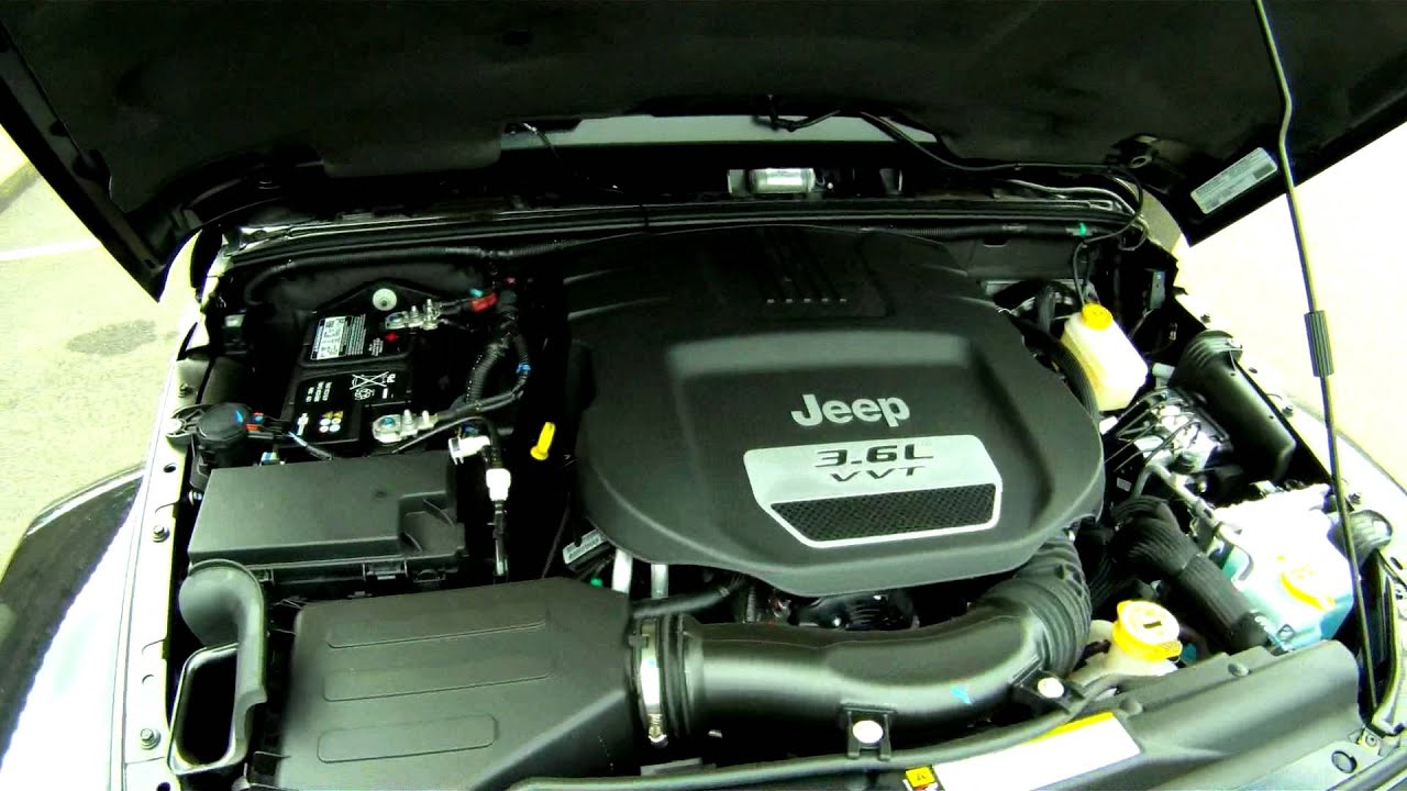 Lithia Chrysler Jeep Dodge >> 2012 Jeep Wrangler Rubicon 3.6L Pentastar Engine ...