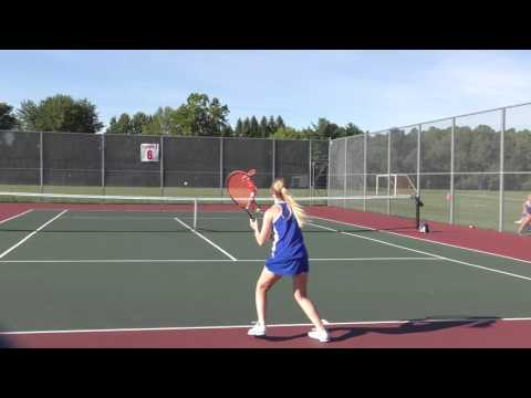 Girls Varsity Tennis Baldwinsville VS Cicero North Syracuse High 8/29/2016