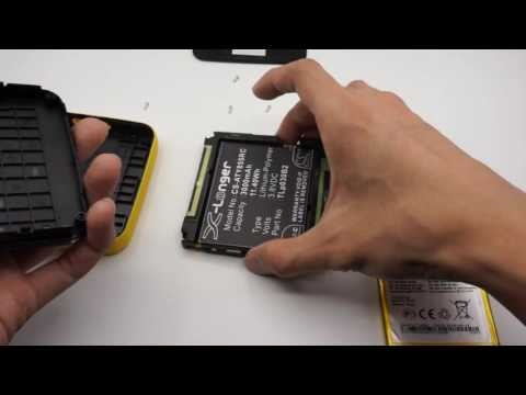 How to replace Cameron Sino battery for ALCATEL One Touch Link Y855