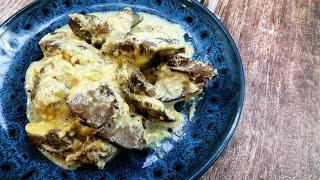 Куриная Печень в Сливочном Соусе Печень Готовлю Теперь по Этому Рецепту