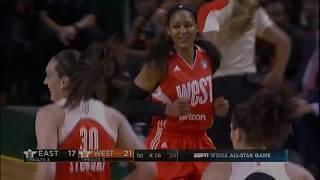2017 WNBA All-Stars Show Off Shooting Range in 1st Quarter!