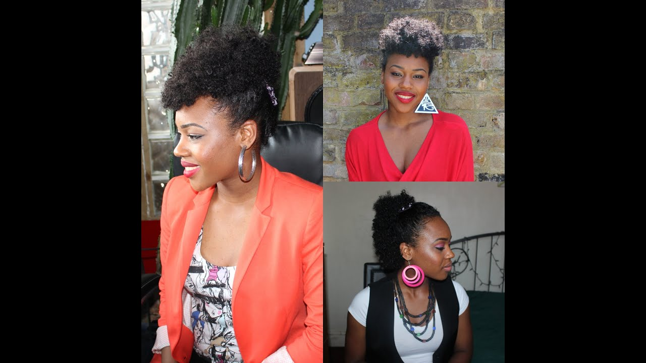 44 Simple Hair Styles For Natural Hair Using My Magic Comb Youtube