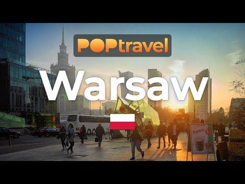Walking In WARSAW / Poland 🇵🇱- 4K 60fps (UHD)