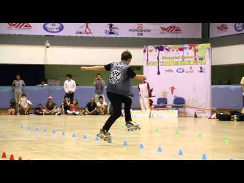 Guo Fang 郭方 2013 SSO Shanghai Slalom Open Senior Men Classic 7th